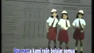 Soleram - tiga anak manis - lagu anak tahun 90an