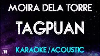 Moira Dela Torre - Tagpuan (Karaoke/Acoustic Instrumental)