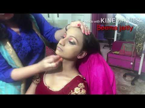 Xxx Mp4 Dark Skin Bridal Makeup Full Bridal Makeup With Hair Style Seema Jaitly 3gp Sex