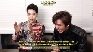 [ENG-SUB] 161021 Dongwoo Collaboration with Park Tae Joon Interview