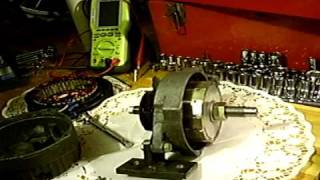 Permanent Magnet Alternator generator, part 1.01