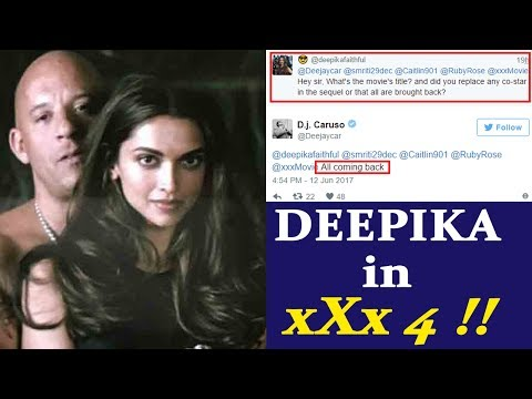 Deepika Padukone CONFIRMED for xXx 4, says Director DJ Caruso | FilmiBeat
