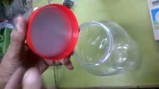 Plastic Jar Lid Sealing by Induction