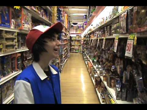 Ash Ketchum at KB toys