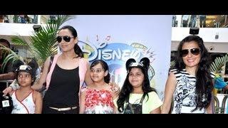 Mini Mathur & Gauri Tonk at Mickey Mouse event