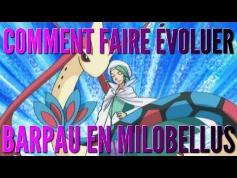 [TUTO] Comment faire évoluer Barpau en Milobellus ? l Pokémon ROSA