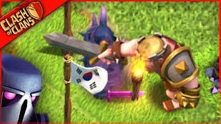 NEW PEKKA vs KING!? ▶️ Clash of Clans ◀️ 2017 BASE UPDATE TIME!
