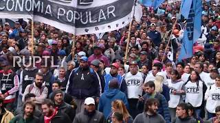 Argentina: Buenos Aires workers rally for salary increase