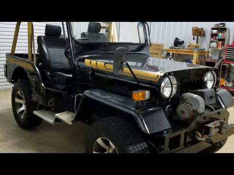87 Mitsubishi Jeep J54 available