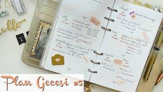 Plan Gecesi #5 | Benimle Planlayın