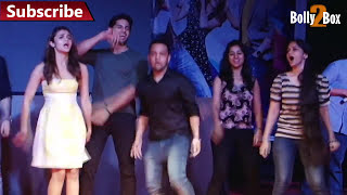 Sidharth Malhotra Hot Dance With Fans At Kapoor & Sons Promotion
