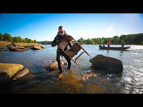 River Treasure Extracting Treasure From River Helping Fishermen