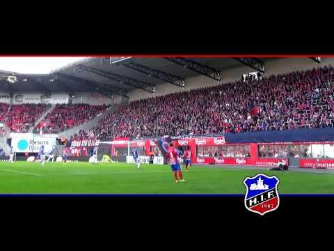 Helsingborgs IF - Trelleborgs FF 1.4.2017 Läktarfilm