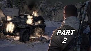 Sniper Elite 3 Gameplay Walkthrough Part 2 - The Ambush (PC)