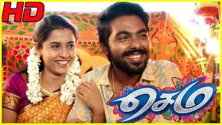 Sema Tamil Movie Climax | Mansoor Ali Khan accepts GV Prakash and Arthana | End Credits