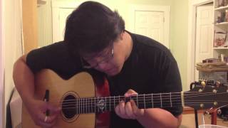 Radiohead - Sail To the Moon (Acoustic Cover) [HD]