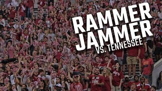"""Watch Alabama fans sing """"Rammer Jammer"""" after owning Tennessee"""