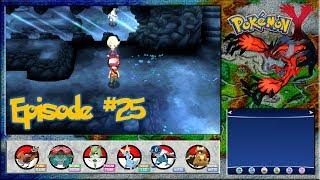 Pokemon Y - The Reflection Cave, Gardevoir Arrives - Episode 25