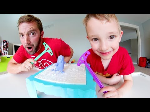 Father & Son PLAY DON T BREAK THE ICE