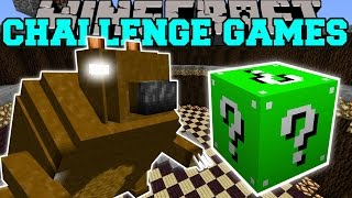 Minecraft: GIANT BEAR CHALLENGE GAMES - Lucky Block Mod - Modded Mini-Game
