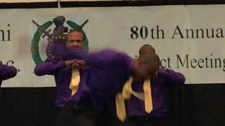 Rho Theta Chapter Of Omega Psi Phi At The 80th 9th District Meeting In Little Rock AR