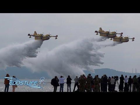 Zemunik AFB 25th Anniversary Air Parade - Zadar Croatia HD