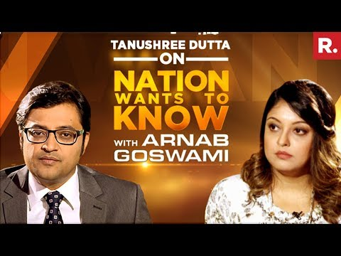 Xxx Mp4 Tanushree Dutta Opens Up To Arnab Goswami On Nation Wants To Know Full Episode 3gp Sex