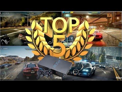 Top 5 Os Melhores Jogos de Corrida do Playstation 2