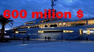 $600 Milion Luxury Yacht | Amazing Interior | 130 m