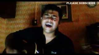 Teri Meri Kahaani-Aadat |  Mashup | Arijit Singh-Atif Aslam | Guitar Cover | 2015