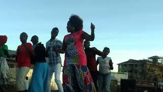 Gloria Muliro Performing Ndiyo Yako