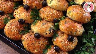 معجنات تركية فطائر مدرسية قطنية رائعة فطائر سهلة و سريعة التحضير مع رباح محمد ( الحلقة 352 )