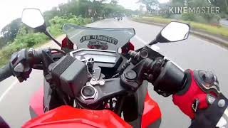 Honda CBR vs R15 V3 Death Race - Most Dangerous