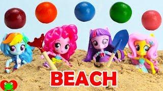 My Little Pony Equestria Girls Beach Adventure Treasure Hunt