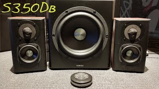 EDIFIER S350DB _ (Z Reviews) _ The Basshead 2.1 / Soundbar Killer