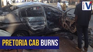 Pretoria Uber taxi drivers assaulted, vehicle set alight