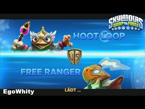 Hoot Loop VS. Free Ranger Skylanders Swap Force Duellkampf