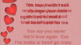 Love can make your heart go crazy - English Song ( Lyrics)