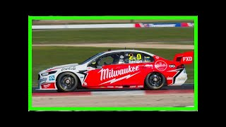 James Davison cuts Supercars laps at Winton