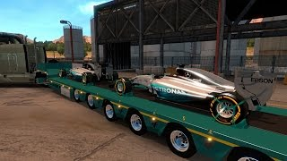 American Dream #48 Transportando Autos Fórmula 1! Me pagan 200,000