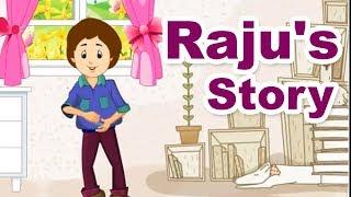 Raju's Story - Home Revise 2nd Std. Maharashtra Board Marathi Medium English