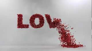 After Effects Project Files Love Leaves Template