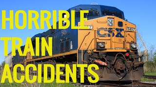 Horrible Train Accidents Caught On Camera