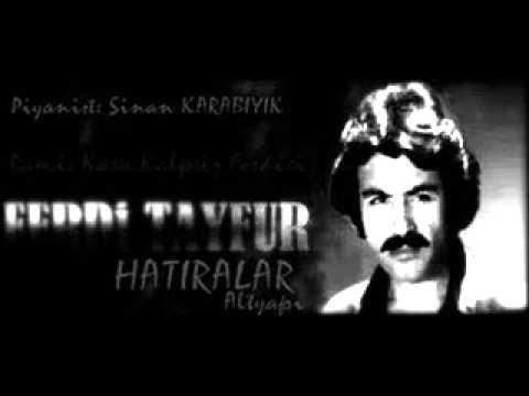 Ferdi TAYFUR HATIRALAR 2014 Altyapı & Karaoke