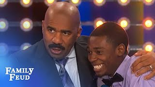 Rhymes with guy… | Family Feud