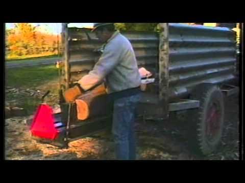 Fantastic Log Splitter Made From Car Parts