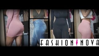 Fashion Nova Try-on haul | HeyParis