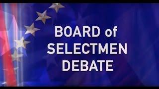 BCAT Board of Selectmen Debate 2017