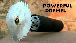 How to make a mini dremel tool
