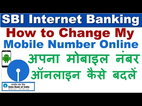 Xxx Mp4 How To Change Update Mobile Number In SBI Account Online Without Visiting Branch 3gp Sex